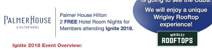 Don't miss Wrigley Rooftops Cubs watching party with all the INTEC members!